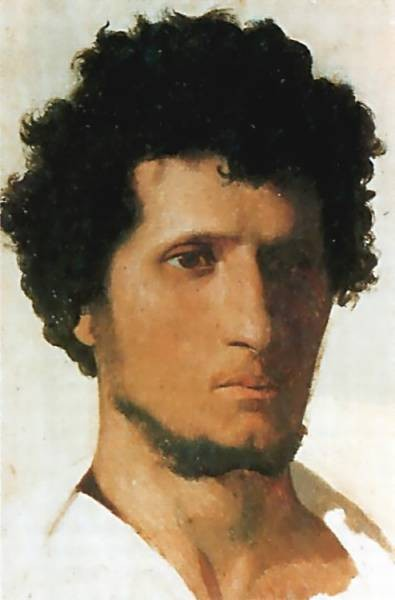 Head of a Peasant of the Roman Campagna